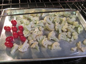 Roasting Veggies for Pasta Toss