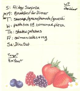 Weekly Menus: 2/27/2011