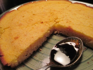 Cornbread with Molasses