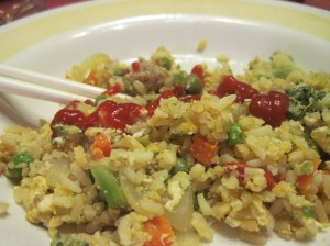 Leftover Rice Fried Rice
