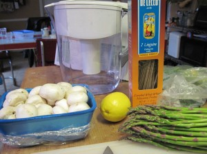 Pasta Toss Ingredients