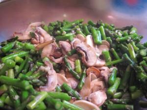 Crisp tender asparagus