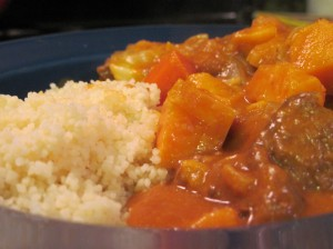 Mafe with Couscous