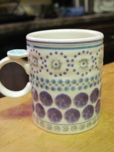 The Manageable Milk Mug (also from Anthropologie)
