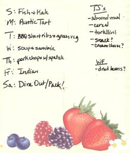 Weekly Menus: 4/3/2011