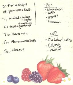 Weekly Menus: 4/17/2011