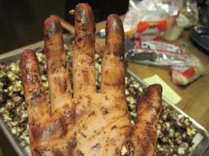 Chocolate Hand!