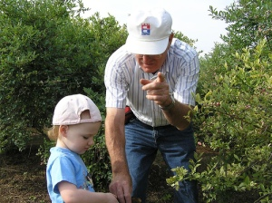 Employ Help to Pick the Fruit: My Dad and My Eldest