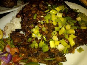 Afghan Chopped Steak