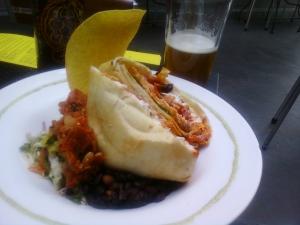 Salmon Paqueta (aka, Grilled Burrito)