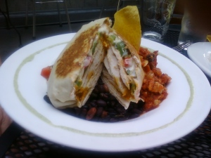 Chicken Paqueta (aka Grilled Chicken Burrito)