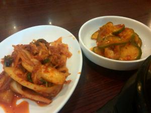 Pickles and Kimchi at Vit Goal