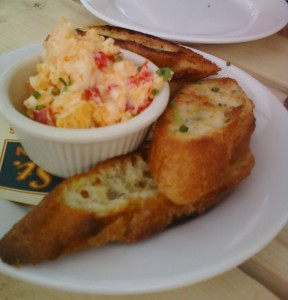 Pimento Cheese and Toasted Bread