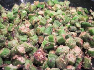 Fried Okra, Dori Sanders Style