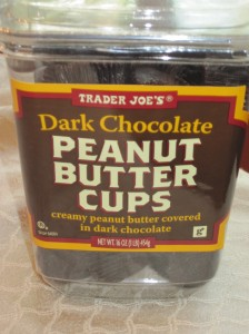 Fuel for The Practical Cook (Dark Chocolate Peanut Butter Cups from Trader Joe's)