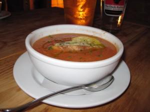 Gazpacho at Geer Street Garden