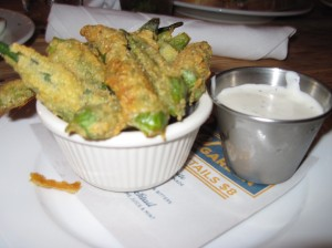Hello Fried Okra, Welcome Home
