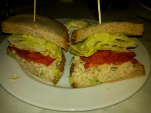 Pricey Tuna Sandwich