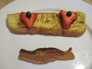 Smile, You've Got Simplified French Toast