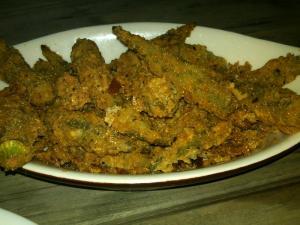 Fried Okra, Whole Pod!