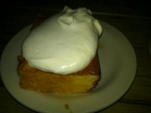 Tres Leches Cake at The Eddy