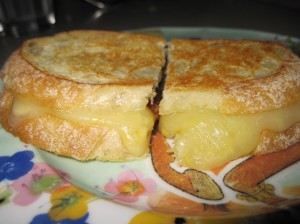 That Grilled Cheese Has Legs!