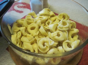 Plain Cheese Tortellini from Trader Joe's (Sigh)