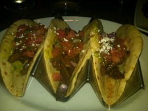Carne Asada Tacos at Dos Caminos