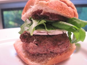 Fig Burger, Slider Sized