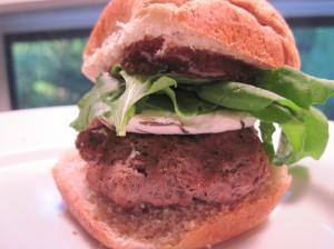 Fig Burger, Slider Sized