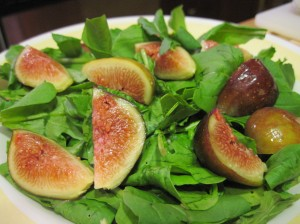 Arugula and Figs, Together Again