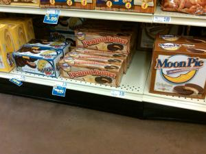 Moon Pies in Many Flavors, Spotted in the Wild