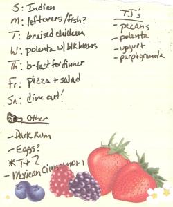 Weekly Menus: 9/4/2011