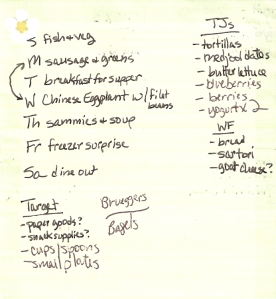 Weekly Menus: 9/25/2011