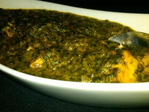 Palak Paneer, Done Really Well by Saffron Chapel Hill