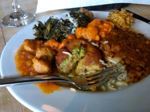 Saffron Morrisville's Buffet Offerings Change Daily, and Vary Nicely
