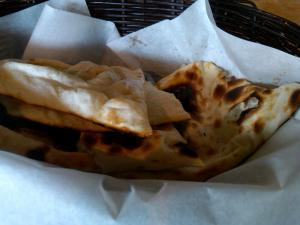 Hot Fresh Naan Delivered to the Table: Part of Saffron Morrisville's Buffet!