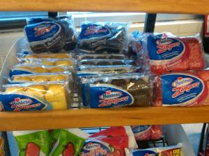 Zingers in the Gas Station, Three Flavors