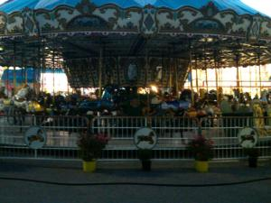 Carousel at Sunset