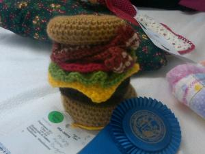Crochet Krispy Kreme Burger, Just Because