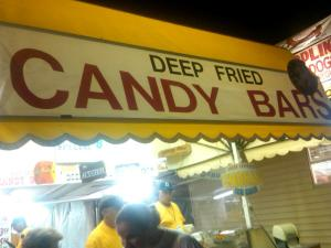 The Siren Song of Deep Fried; Candy Bars