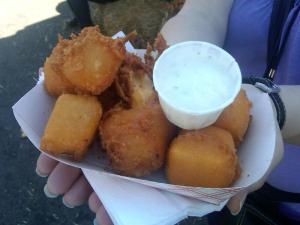Deep Fried Cheddar Cheese (Yeah, It's That Good)