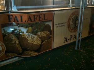 Falafel Stand!