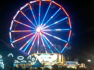 Good Night Ferris Wheel, I'm Still Afraid of Your Magestic Heights