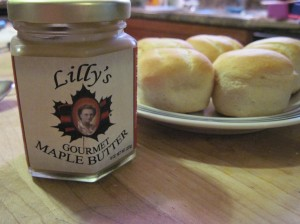 Lilly's Gourmet Maple Butter: I Think I Love You