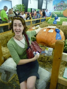 Welcome to the N.C. State Fair Memory Lane, Large Pumpkin Edition