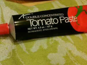 Why use toothpaste when you can use tomato paste?