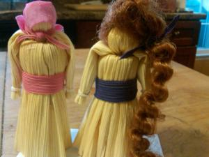 The Corn Husk Dolls, Because TPC's Jr Want to Share