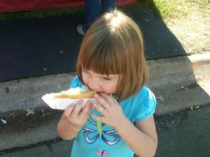 The Youngest Masters the Art of Mobile Eating