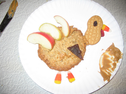 Turkey Template! Thanksgiving Snack Project | The ...